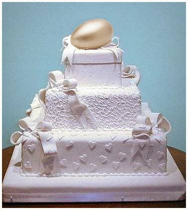 Picture: The wedding cake